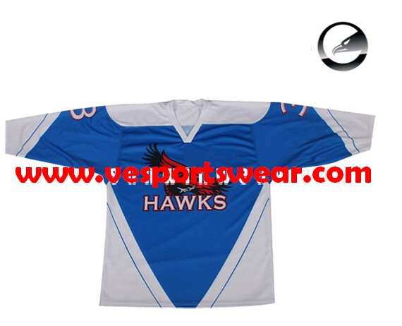 hockey jersey with sublimation print