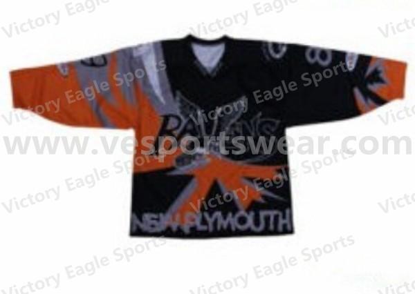 printed ice hockey jerseys sublimation
