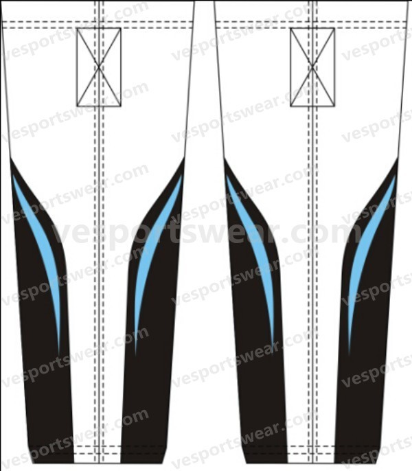Csutomized team inline roller hockey pants