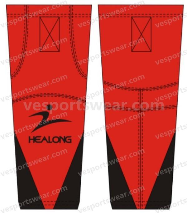 custom sublimation roller hockey pants