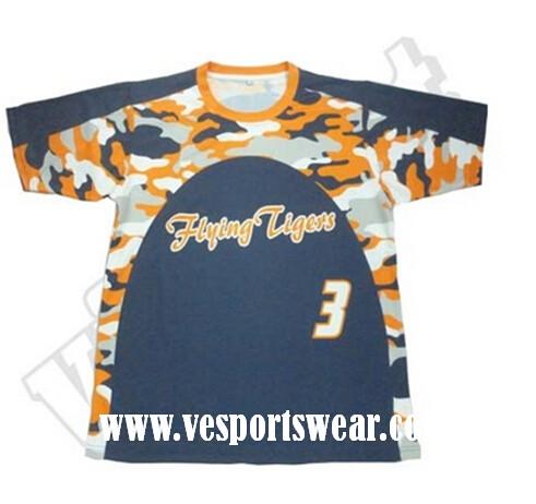 2015 new design sublimation lacrosse jerseys