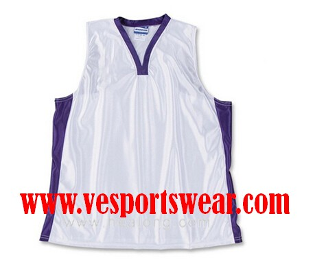 Dye Sublimated Digital Printing Lacrosse Jersey
