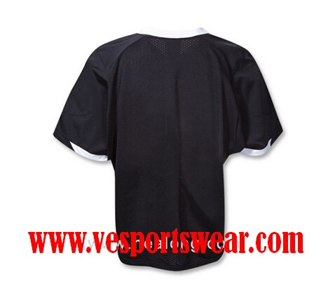 black sublimation lacrosse jerseys