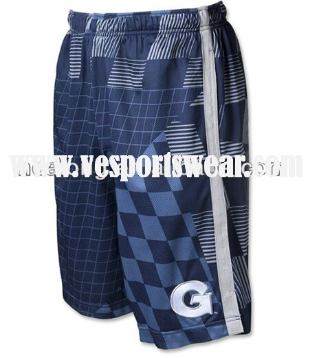 Sublimated cool lacrosse shorts