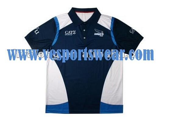 Polo shirts turquoise