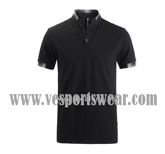 single jersey polo shirt