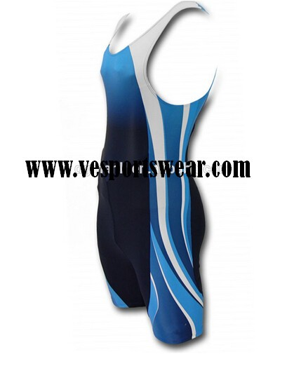 discount blue sublimation rowing suit