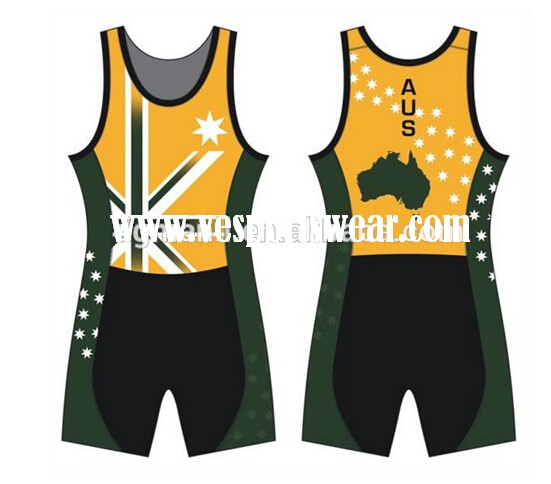 high quality sublimation rowing wear