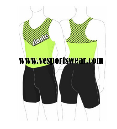 wholesale green sublimation rowing suit