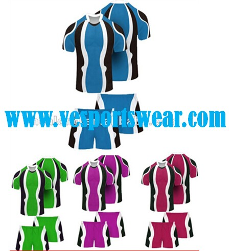 New arrive blank rugby jersey