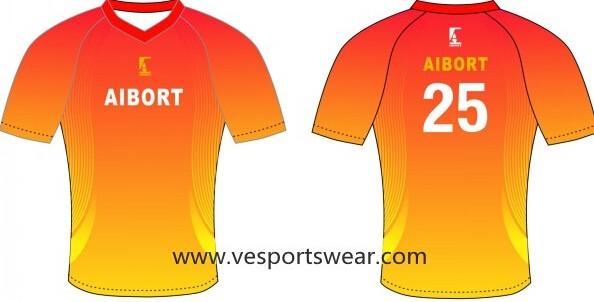 blue stripe sublimation soccer uniform