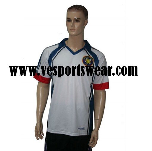 100% polyester sublimaion soccer uniform quick dry