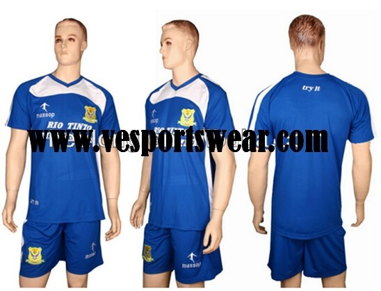 Cheap sublimation soccer uniform for sale