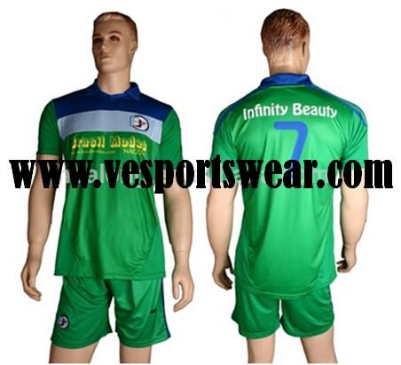 Custom Sublimated Unisex Soccer kit