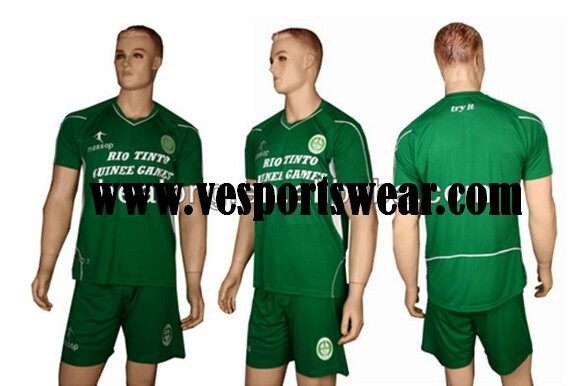 Fashion professional sportswear soccer uniform