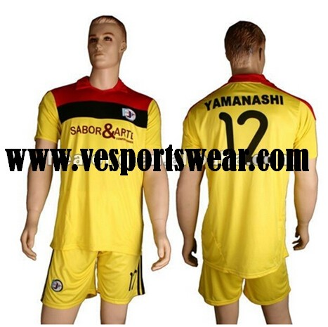 Hot sale polyester football jersey
