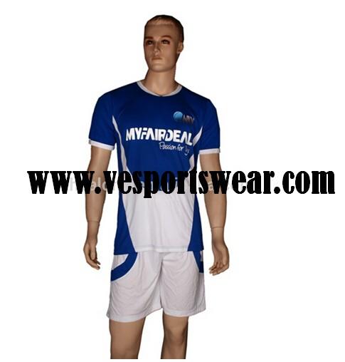 New design custom design soccer uniform