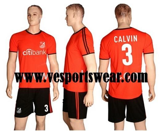 New design professional sportswear soccer uniform