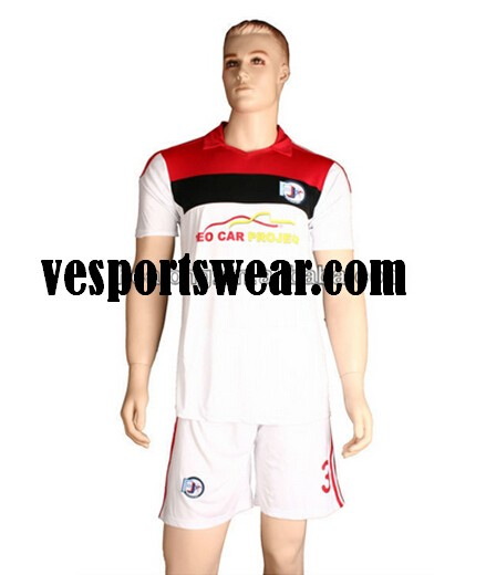 Top quality custom soccer kit