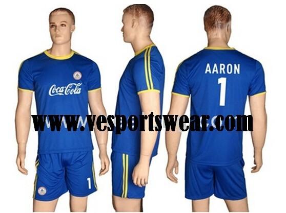 Wholesale fashion sublimation soccer kit