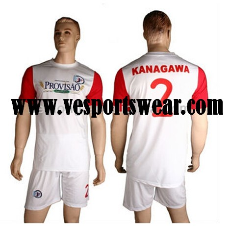 Wholesale sportswear soccer uniform