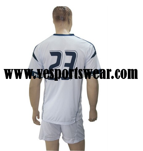 embroidered polyester football jersey