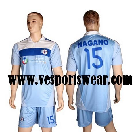 hot sale soccer uniform shirt for  2014