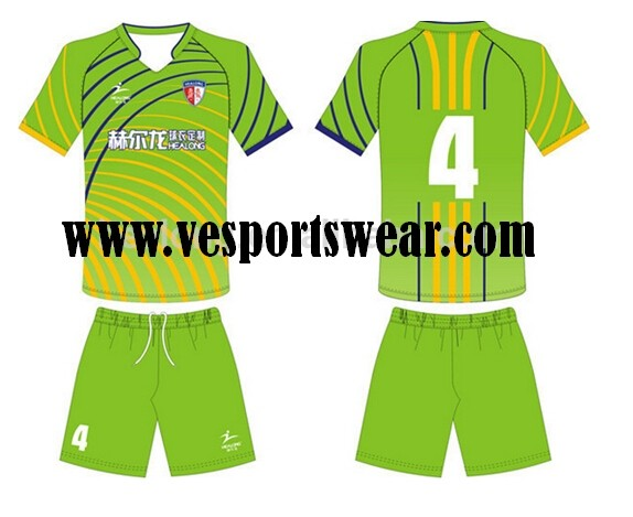 wholesale  sublimation mens soccer uniform