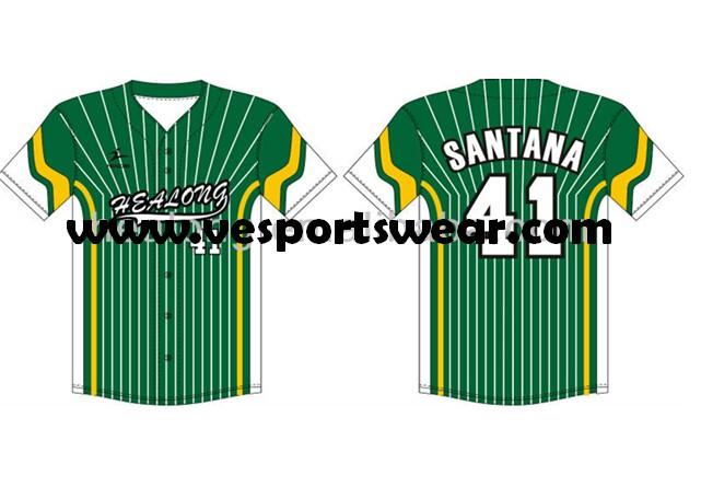 2014 full sublimation softball uniform