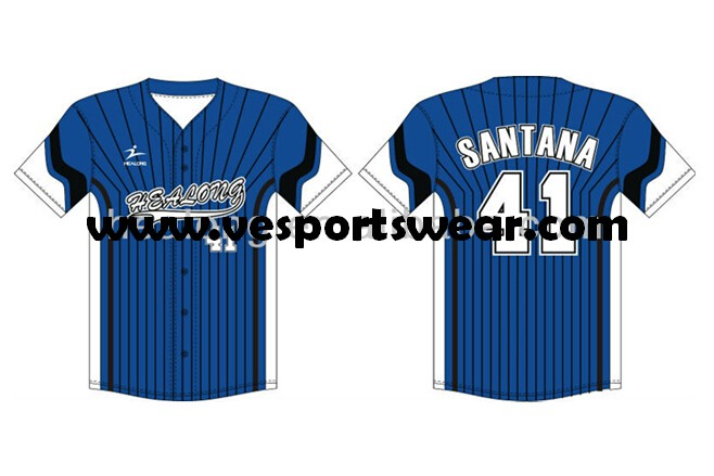 All over printing softball uniform with own design