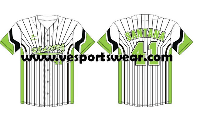 polyester dry fit softball jersey