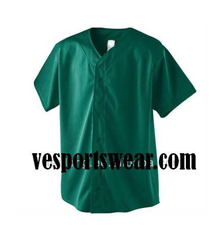 polyester sublimated softball sports jersey