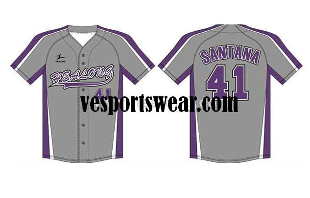 promotional cheap blank softball jerseys