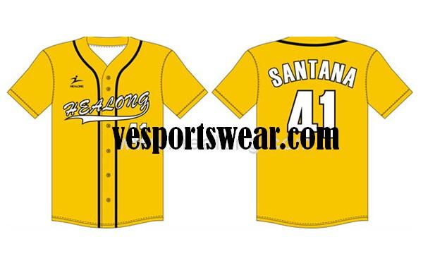 sublimated softball jerseys china custom design