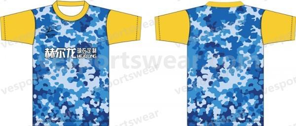 New style sublimated promo t shirt