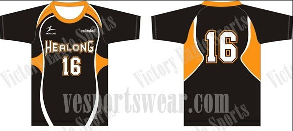 wholesale sublimated volleyball uniforms/jerseys