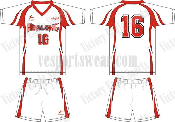 Sublimated Volleyball Jerseys Shirts Sublimated