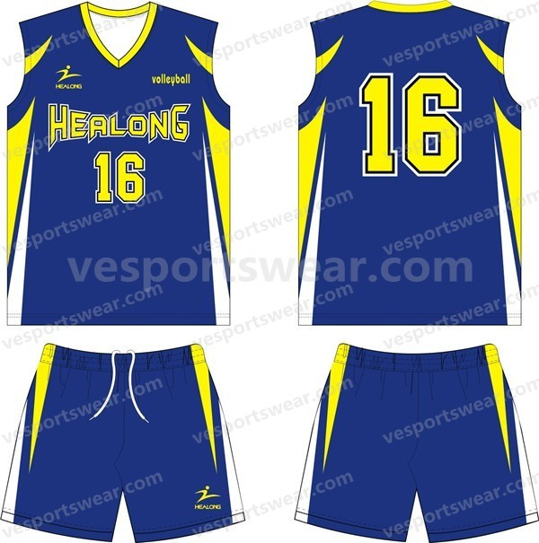 2014 new style volleyball jersey