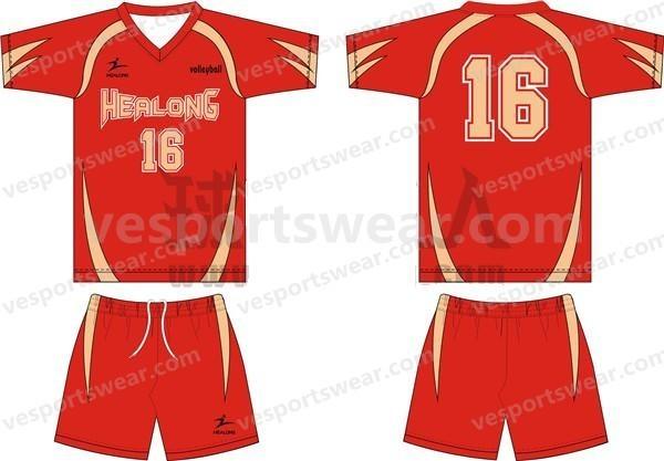 costom logo volleyball jersey