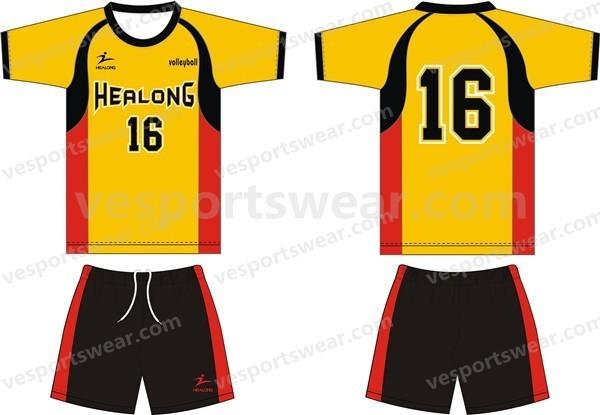 custom top quality volleyball sports uniform