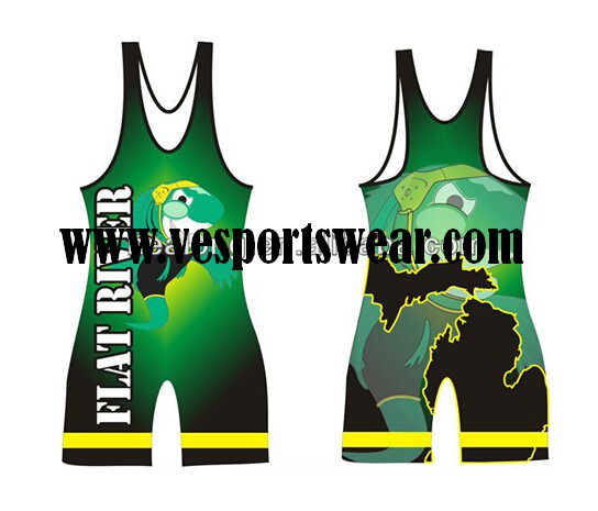 fashion custom wrestling singlets