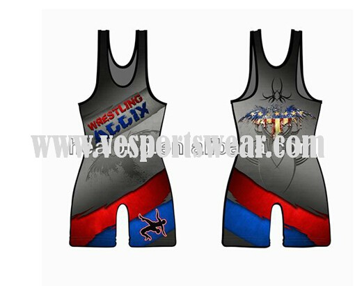 sublimation plain wrestling singlets for sale