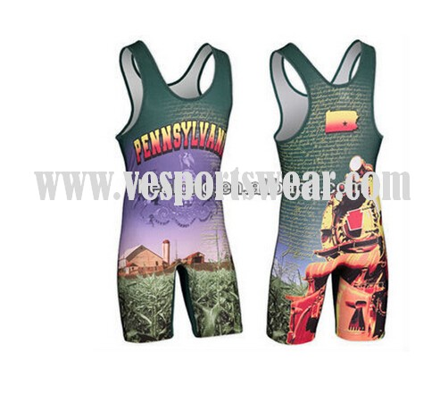 wholesale mens wrestling singlet