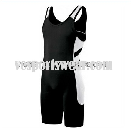 wholesale printed wrestling singlets for men