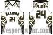 Basketball jersey with logo design