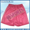 reversible printing basketball shorts