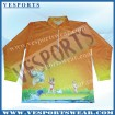 China fishing jerseys