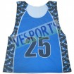 custom sublimation lacrosse jerseys/pinnies