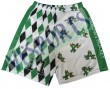 lacrosse shorts made by polyester fabrics