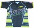 Unique fabric sublimated rugby jersey